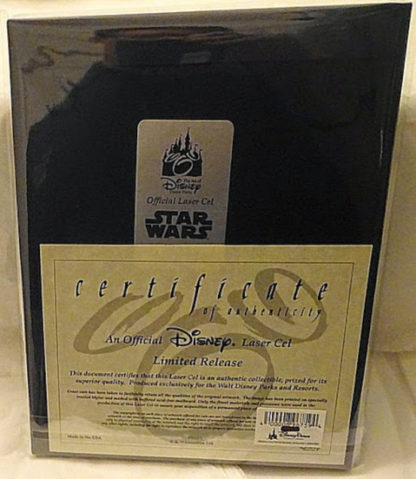 Stormtrooper Donald Laser Cel Limited Release New Back With Certificate Of Authenticity