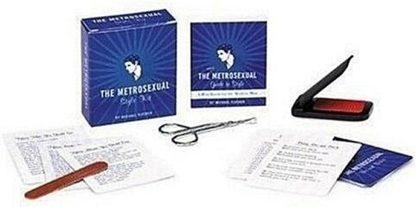 The Metrosexual Style Mini Book Kit New Open Stock Photo