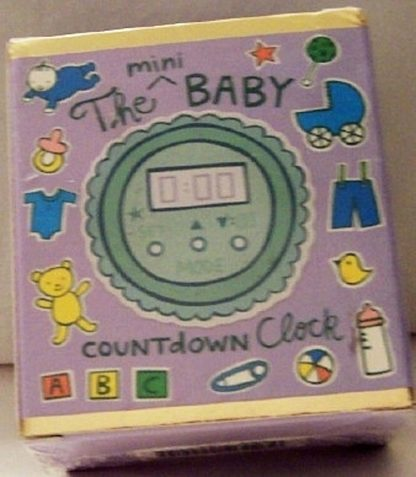 The Mini Baby Countdown Clock Kit New Front