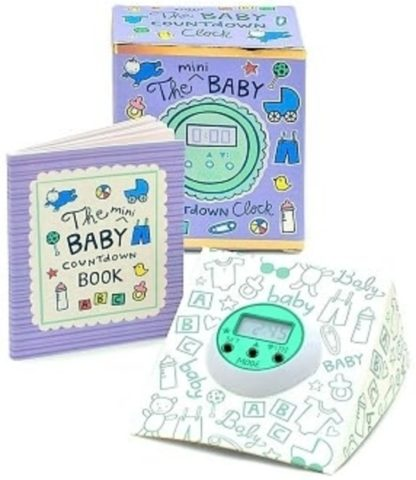 The Mini Baby Countdown Clock Kit New Open Stock Photo