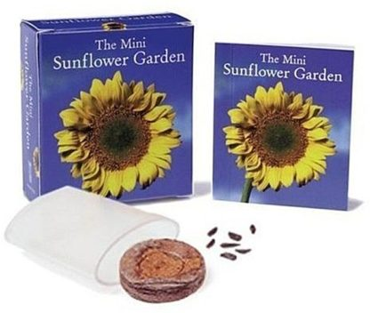 The Mini Sunflower Garden Mini Book Kit Open Stock Photo