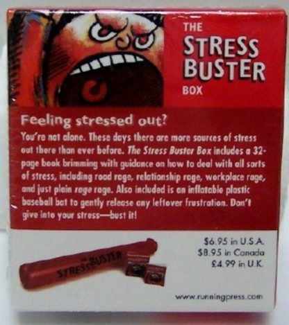 The Stress Buster Box Mini Book Kit New Back