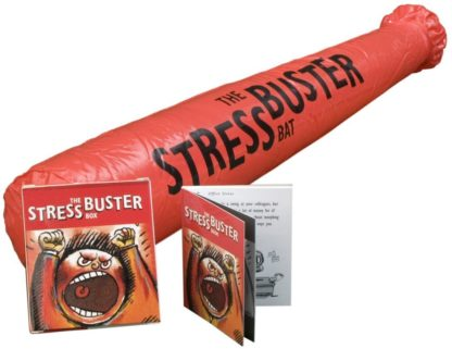 The Stress Buster Box Mini Book Kit New Open Stock Photo