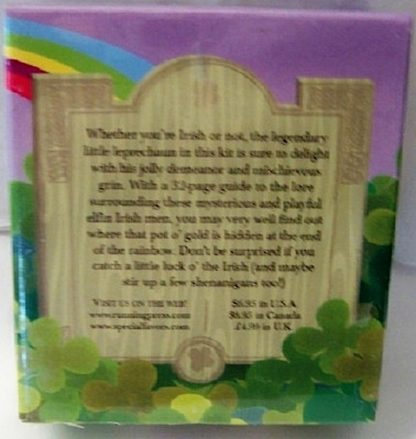 Wee Little Leprechaun Mini Book Kit New Back