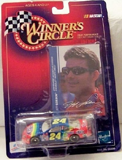 Jeff Gordon 1999 Diecast #24 Dupont Monte Carlo & Photo Card Front