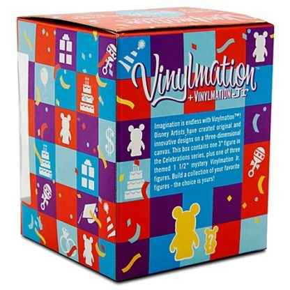 Disney Groom Celebrations Vinylmation 3 Inch Figure + Jr New In Box Back