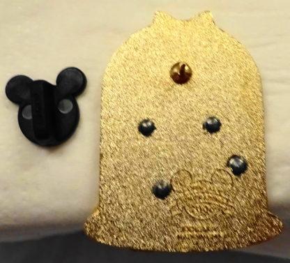 Disney Mickey Groom Minnie Bride Wedding Chapel Pin New Back