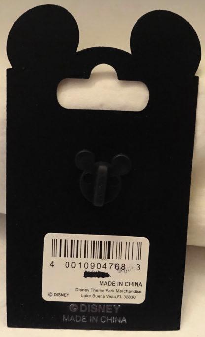 Disney Mickey Groom Minnie Bride Wedding Chapel Pin New On Card Back