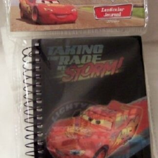Disney Pixar Cars Lightning McQueen Lenticular Journal New In Pack Front
