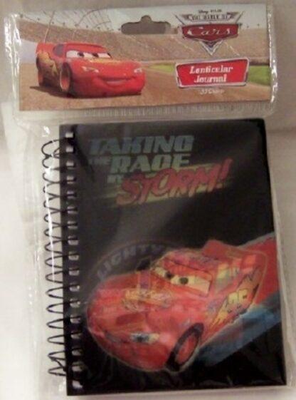 Disney Pixar Cars Lightning McQueen Lenticular Journal New In Pack Front
