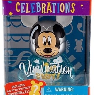 Disney Visit Celebrations Vinylmation 3 Inch Figure + Jr New In Box Front