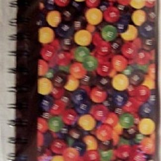 M&M'S Sweet Ideas Collectible Spiral Journal Front