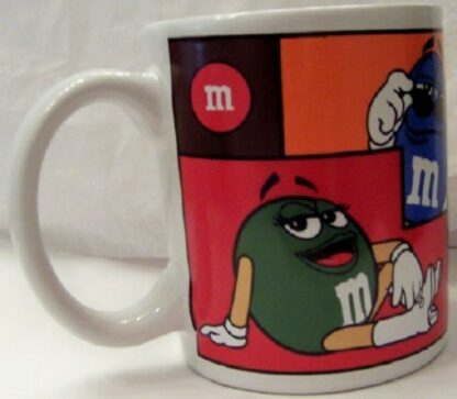 M&M's Colorblock Collectible Mug New 1