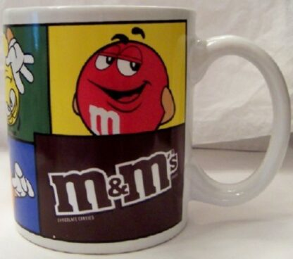 M&M's Colorblock Collectible Mug New 5