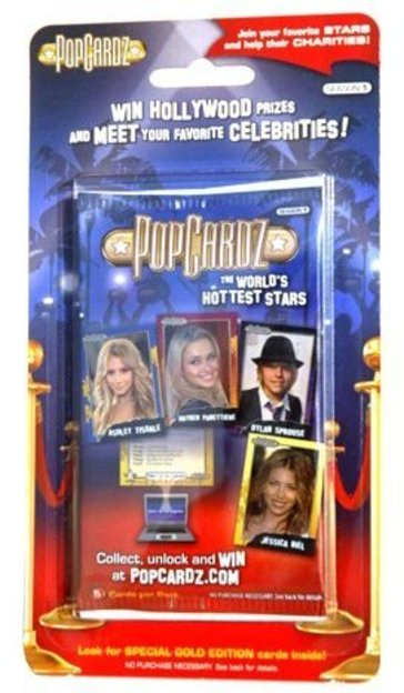 PopCardz Hottest Stars Pack Season 1 #5 Cards