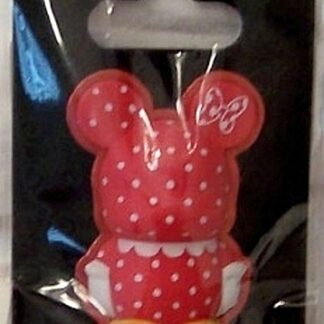 Disney 3-D Vinylmation Pin Cutesters Series - Minnie Mouse Dress New On Card