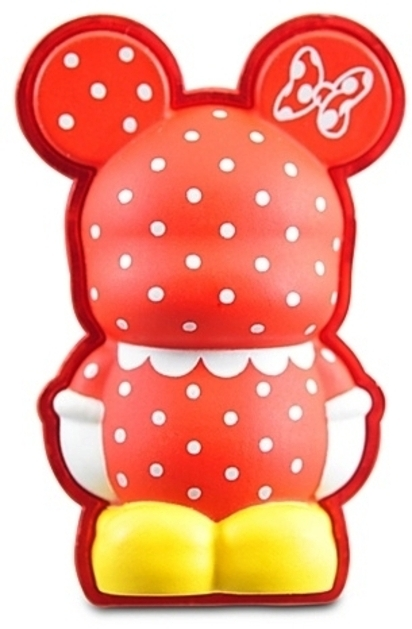 Disney 3-D Vinylmation Pin Cutesters Series -- Minnie Mouse Dress Stock Photo