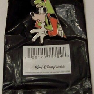 Disney Mickey & Friends Goofy PWP Puzzle Pin With Bag