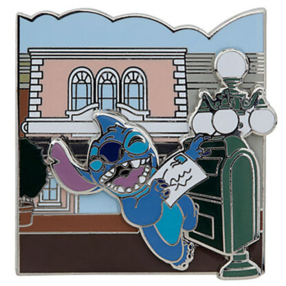 Disney Parks Adventure Series Stitch Main St Opera House Pin New Stock Photo