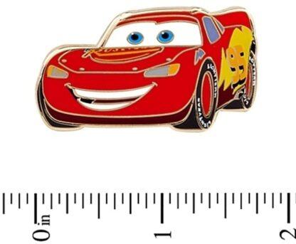 Disney Pixar Radiator Springs Cars LE 350 Pin Set Lightning McQueen New Off Card Stock Photo