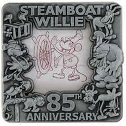 Disney Steamboat Willie 85th Anniversary LE 2500 Pin New Stock Photo
