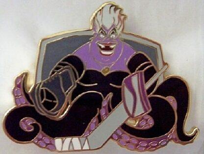 Disney Villain Ursula Plays Hockey LE 500 Jumbo Pin New Front