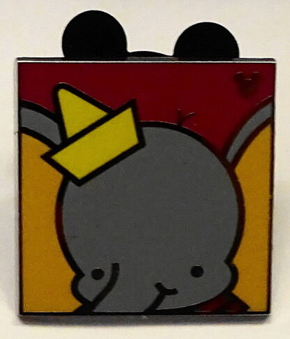 Disney WDW Dumbo Hidden Mickey Completer 2013 PWP Pin New Front