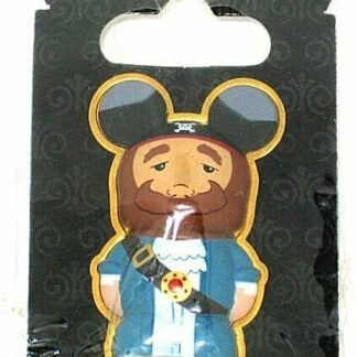 Pirates Caribbean Vinylmation 3D Pin Disney Auctioneer New On Card