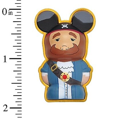 Pirates Caribbean Vinylmation 3D Pin Disney Auctioneer New Stock Photo With Tape Measure