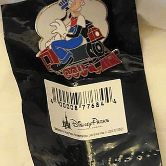 Train Conductor Goofy Pin Disney Mystery Limited New With Bag