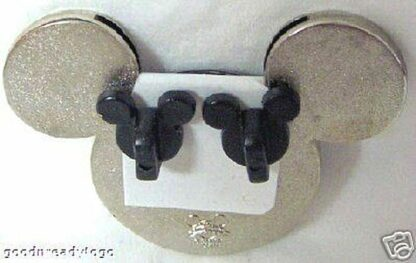 DISNEY WDW MICKEY EARS PHOTO FRAME PIN BACK