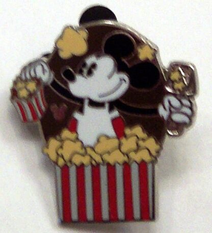 Disney Mickey Mouse Popcorn Hidden Mickey Completer PWP 2013 Pin New Front