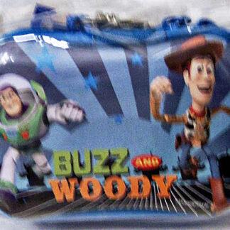 Disney Pixar Toy Story Buzz Lightyear & Woody Zippered Case New Front