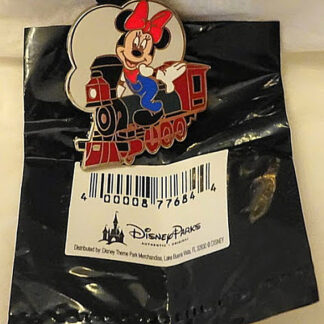 Disney Train Conductor Minnie Mystery PWP Limited Release Pin New With Bag
