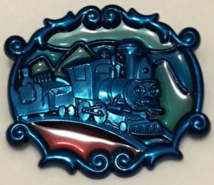 Disney WDW 2013 Annual Passholder New Fantasyland Stained Glass Casey Jr. Pin New
