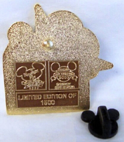Disney WDW Happiest Pin Celebration On Earth 2005 LE 1500 Pin New Back