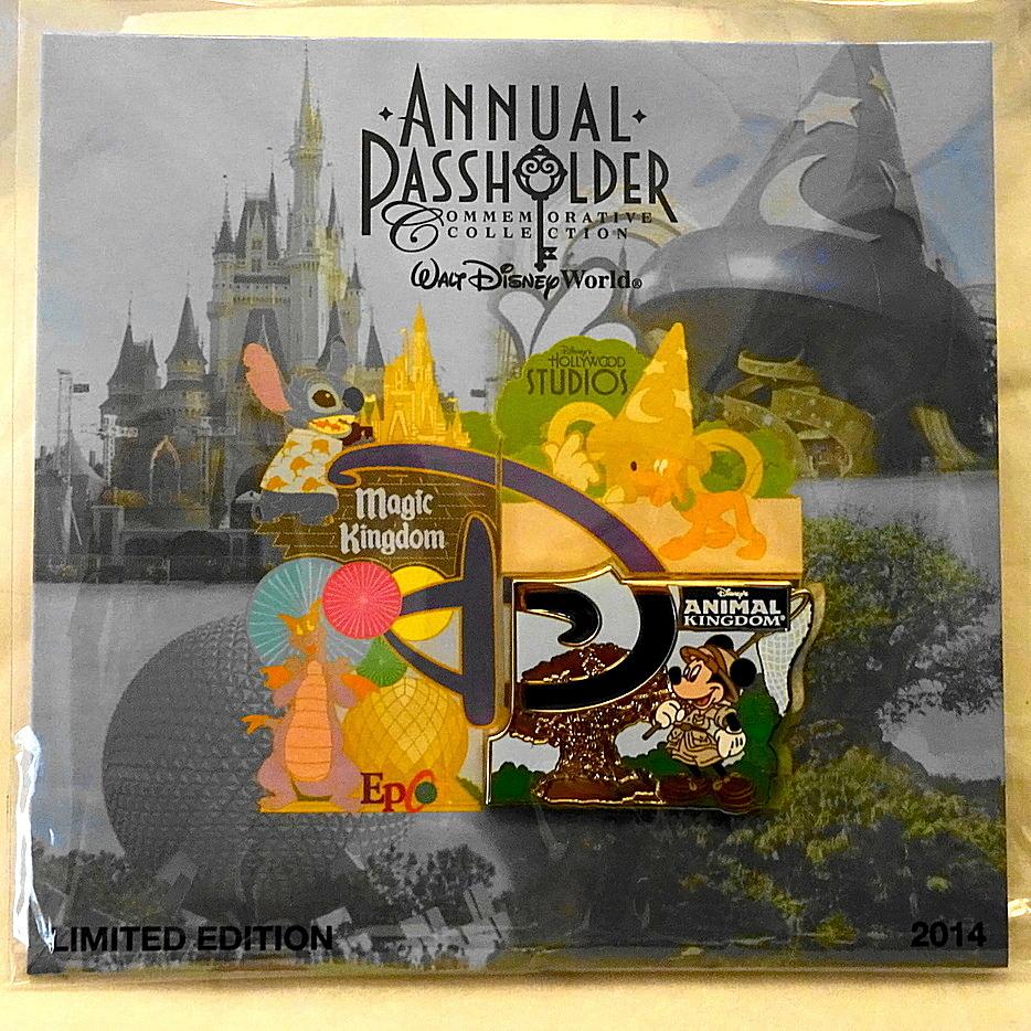 Mickey Animal Kingdom Pin Disney Passholder LE - GoodNReadyToGo