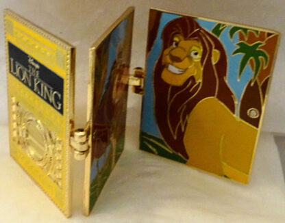 Disney WDW The Lion King Timeless Tales LE 3000 Hinged Pin New Front Partly Open
