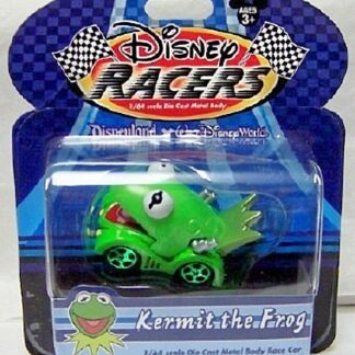 DISNEY RACERS KERMIT THE FROG DIE CAST CAR FRONT