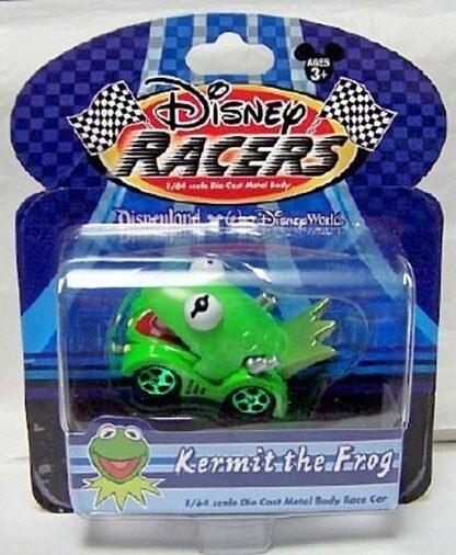 DISNEY RACERS KERMIT THE FROG DIE CAST CAR FRONT