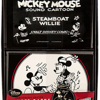 Disney Mickey Mouse ''1928'' Note Card Set New In Box Stock Photo