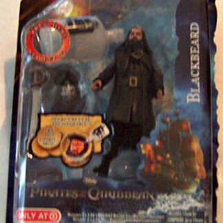 Disney Pirates of Caribbean On Stranger Tides Blackbeard Figure New In Pack Front
