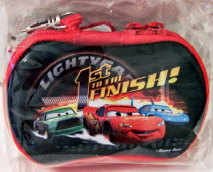 Disney Pixar Cars 1st In The Finish Zippered Case New Front