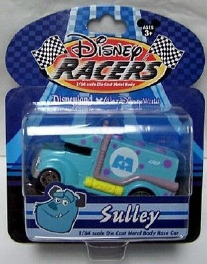 Disney Racers Monsters Inc Sulley 1-64 Die Cast Race Car New In Pack