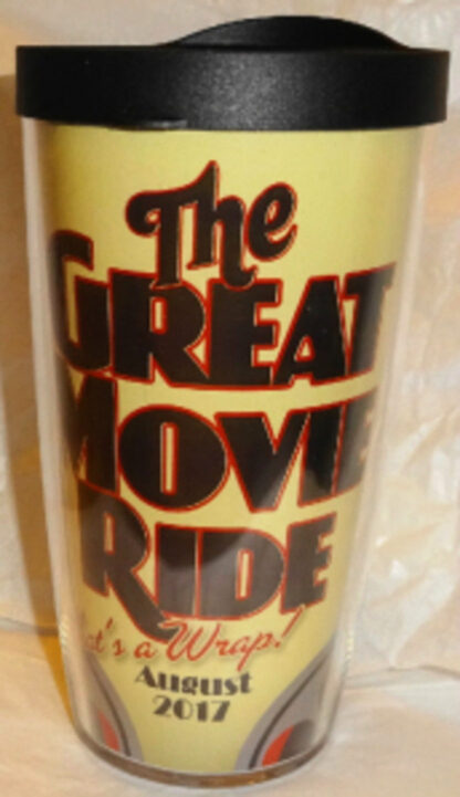 Disney The Great Movie Ride That's a Wrap August 2017 Tervis Cup New Lid On