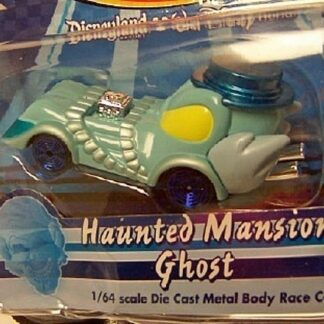 Disney Racers Haunted Mansion Ghost Die Cast Race Car New In Pack Front