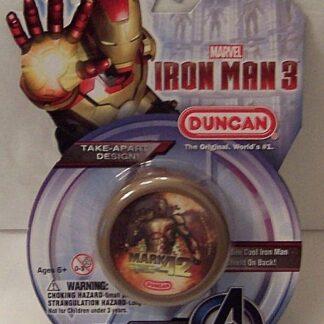 Marvel Avengers Iron Man 3 Duncan Mark 42 Proyo Yo-yo New Front