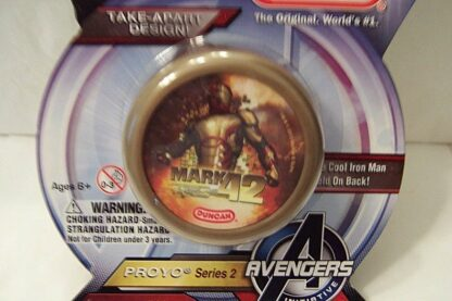 Marvel Avengers Iron Man 3 Duncan Mark 42 Proyo Yo-yo New Front Closeup