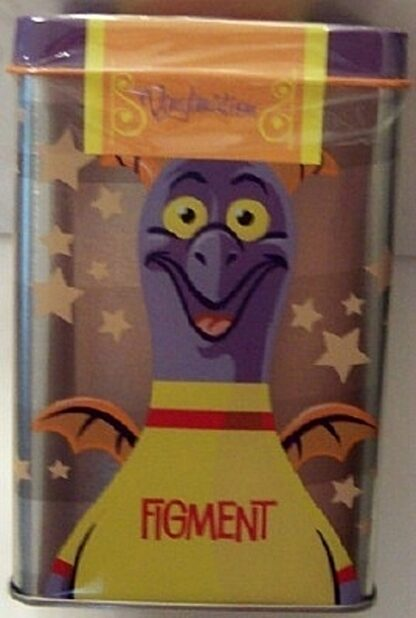 Disney Parks Vinylmation Park Starz Series 1 Figment 3 Inch Figure New In Tin 2