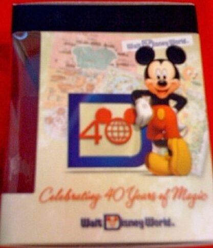 Disney Vinylmation Celebrating 40 Years Of Magic Animal Kingdom Figure New In Box Side 1